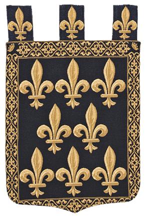 Fleur De Lys Tapestry, 24in x 18in