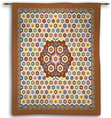 Honeycomb Quilt Tapestry Wall Hanging Kids Picture H53