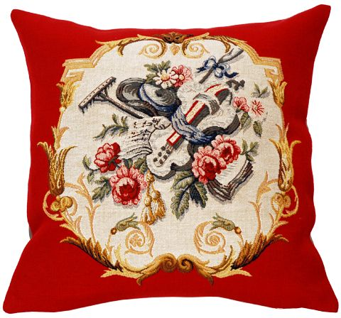 Jardinier tapestry cushion cover european home decor for European home collection