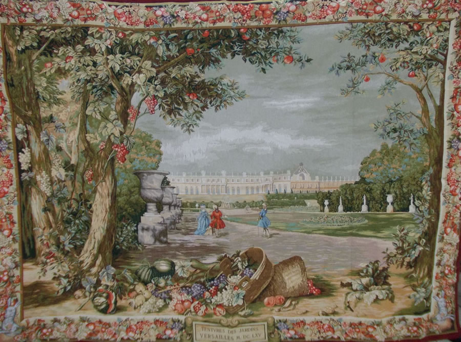 Tapestry Wall Hanging gardins de versailles tapestry wall hanging european home decor