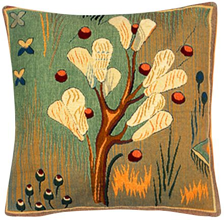 L'air Tapestry Cushion Cover - European Home Decor Collection, 18in x 18in cushion cover