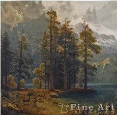 Fine Art Tapestries pieces Proudly Made In The USA