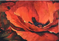 Simon Bull Art Floral Tapestry Collection