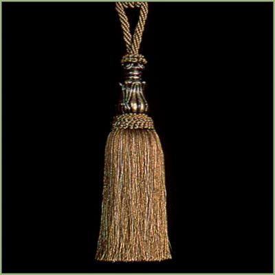 Tassels Elegance (1 pair) - Earth, 11inx3in