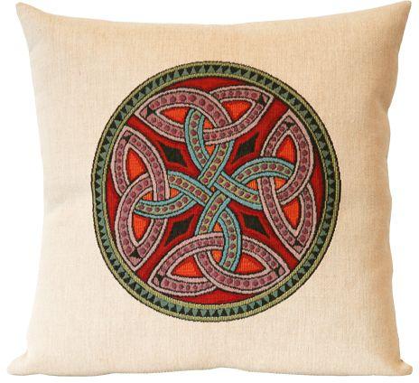 Trinite Celtic Design Tapestry Cushion Cover Classic